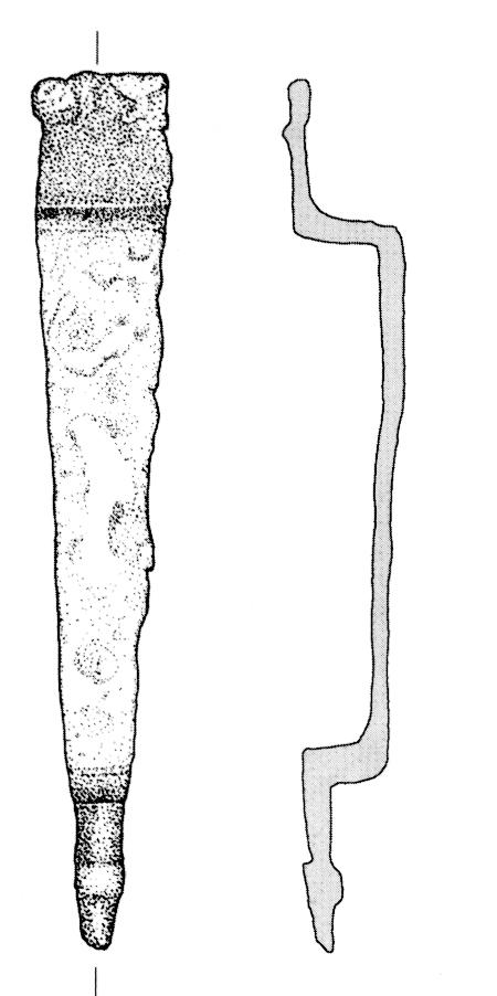 Zawieszka pochwy miecza