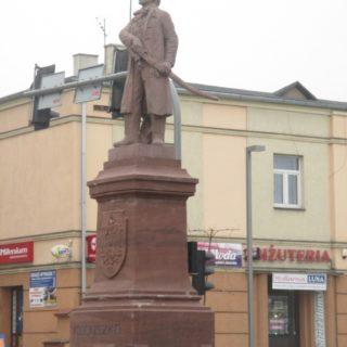 Sto lat pomnika Tadeusza Kościuszki wTomaszowie Mazowieckim