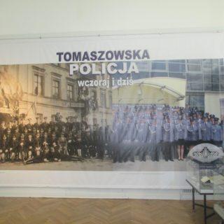 Tomaszowska Policja – wczoraj idziś