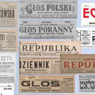 Przegląd prasy fabrycznego Tomaszowa