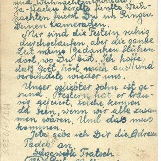 76. rocznica wyzwolenia Tomaszowa Mazowieckiego. Filatelistyczne ciekawostki ze stycznia 1945 r.