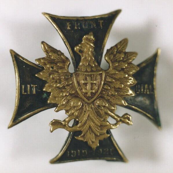 Odznaki pamiątkowe zlat walki oniepodległość igranice Rzeczypospolitej