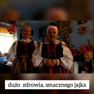 Życzenia świąteczne od Pani Zofii iPani Katarzyny zBielowic
