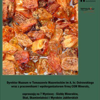 7 Wystawa – Giełda Minerałów, Skał, Skamieniałości iWyrobów Jubilerskich